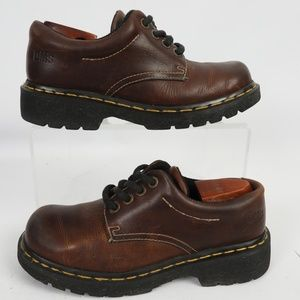Dr. Martens England Brown Lace Oxford Ankle Boot 7